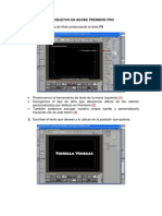 Animar Textos u Objetos en Adobe Premiere Pro