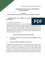 IDP, OJC () Jurisdição Constitucional e a Omissão Legislativa Infraconstitucional - França