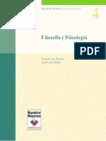 4°Medio Filosfía y Psicología