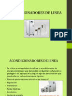 Acondicionadores de Linea