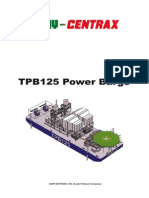 Centrax Brochure - TPB125 Power Barge