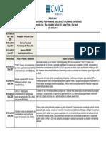 Agenda CMG Brasil 2014
