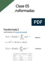 Clase 04 Transformadas y Filtros FIR