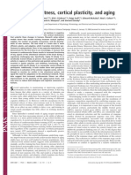 Cardiovascular Fitness, Cortical Plasticity, And Aging