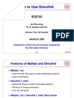How to Use Simulink