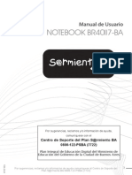 Manual Notebook Sarmiento BRII07