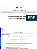 2. Principles of Mass Transfer