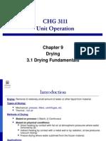 3.1 Drying Fundamentals(2)