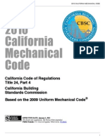 2010 California Mechanical Code
