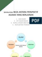 Banding Beza Antara Perspektif Agama Yang Berlainan