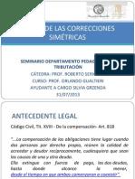 FCE UBA. Correcciones Simétricas. Silvia Grzenda