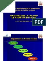 Auditoria en Salud - Planificar