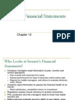 12 Insurer Financial Statements