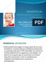 Hemofilia Mexico Enfermeras