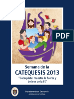Libro Catequesis 2013