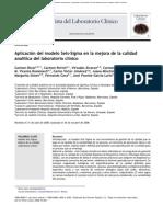Aplicación de 6 Sigma en La Calidad Del Laboratorio