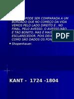 Immanuel Kant(1724 1804) Organizado 1