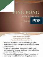 PING PONG Sistem Kiraan Mata