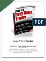 Easy News Trader