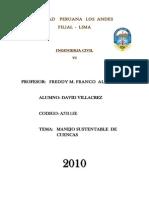 Cuencas de La Region Lima