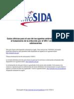 Guias Clinicas p TX Del VIH