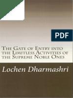 Arya Bhadracharya Pranidhana Raja Commentary by Lochen Dharmashri