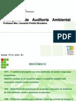 Aula 01- Ferramentas de Gerenciamento Ambiental- Auditoria Ambiental