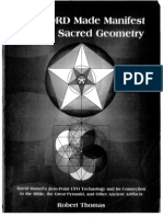 The Word Made Manifest through Sacred Geometry by Robert Thomas