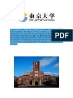 The University of Tokyo Was Established in 1877 as the First National University in Japan