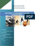 Historia Del Básquetbol
