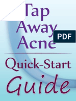 Tap Away Acne Quick-Start Guide