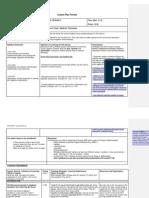 lesson plan template 2012