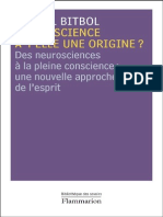 La conscience a-t-elle une orig - Bitbol, Michel.pdf