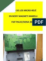 Body Marelli Fiat Palio 2005 - Manual