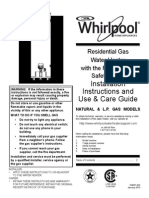 Whirlpool Residential Gas Water Heater
