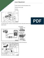 TPS Throttle Position Sensor Adjustment