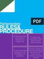 USC Parliamentary Procedure 101