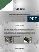 TUBERIAS MATERIALES