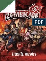 livro de missões Zombicide