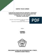Karya Tulis Ilmiah Ismael, Amd. Kep