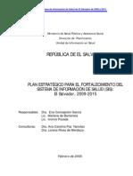 Plan Estrategico SIS El Salvador 270309