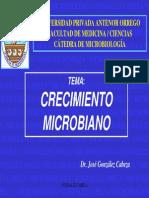Expo Crecimiento Microbiano