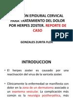 Expo Infusión Epidural Cervical Para Tratamiento Del Dolor Por
