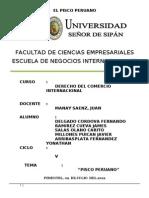 El Pisco Peruano Estudio a Profundo