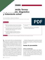 2007 Artritis Reumatoide, Formas de Presentación, Diagnóstico y Tratamiento Actual