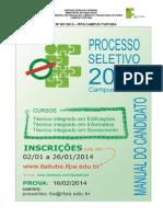 Edital Prosel Ita 2014