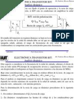 Tema 7 Transistor BJT Análisis Dinámico