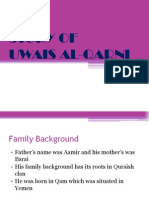 STORY of Uwais Al Qarni
