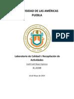 LaboraToriodeCalidadI_Actividades141588
