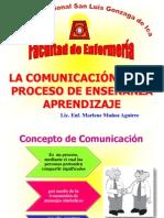 Comunicación Proceso Enseñanza Aprendizaje